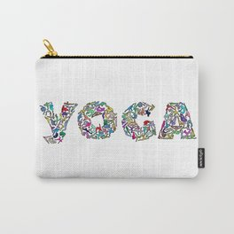 YOGA Figure Poses Carry-All Pouch