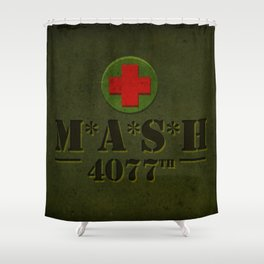 M*A*S*H Shower Curtain