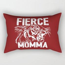 Fierce Momma / Red Rectangular Pillow