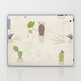 My Potted Cactus Pattern Laptop & iPad Skin