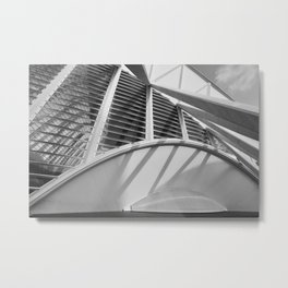 City of Arts and Sciences IV by CALATRAVA architect Metal Print