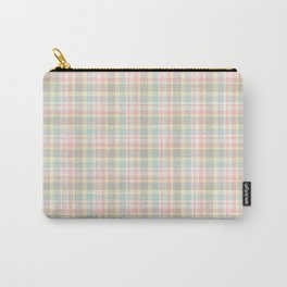 Winter Plaid 8 Carry-All Pouch