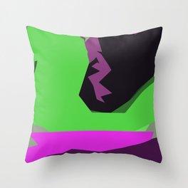 Green River of Abundance Throw Pillow