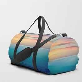 Abstract Seascape Duffle Bag