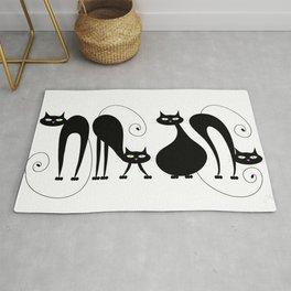 Four Cats / Cuatro Gatos Rug