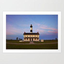Bodie Island Lighthouse at Sunset Art Print