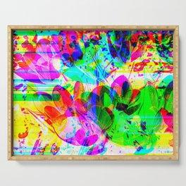 experimental art Serving Tray