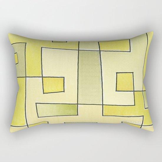 "Proto pattern n 2 ""fresh lemonade"" Rectangular Pillow"