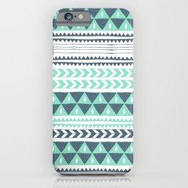 Winter Stripe iPhone Case