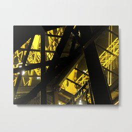 Inside The Tower I Metal Print