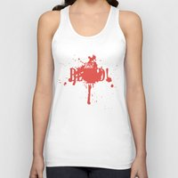 dota Tank Tops featuring First Blood! Bloodseeker by DotaZone Store