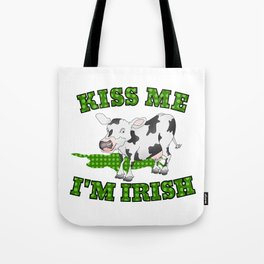 Kiss me I'm Irish Tote Bag