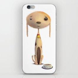 Good Doggie by dana alfonso iPhone Skin