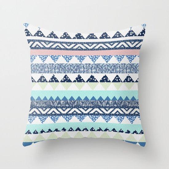 MOEMA COTTON CANDY Throw Pillow