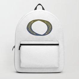 Celtic Knotwork Alphabet - Letter O Backpack