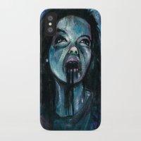 bjork iPhone & iPod Cases featuring BJORK by chris zombieking