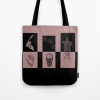odd future Tote Bags featuring Odd by Sofia Gerona