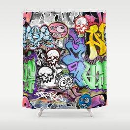 Graffiti is art. Shower Curtain