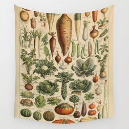 legume et plante potageres Wall Tapestry