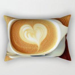 A Warm Cup of Love Rectangular Pillow
