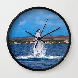 Peck Slap Wall Clock