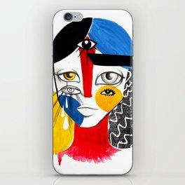 Multiplicidade 2 iPhone Skin