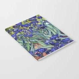 Irises by Vincent van Gogh Notebook