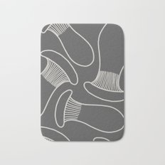 king oyster mushrooms Bath Mat