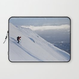 Skiers at Hatcher Pass (2) Laptop Sleeve