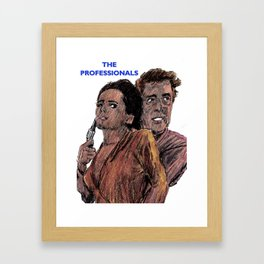 The Professionals Framed Art Print