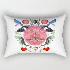 Flora & Fauna Rectangular Pillow
