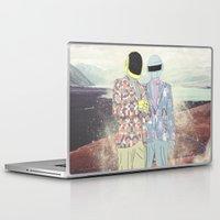 daft punk Laptop & iPad Skins featuring Daft Punk. by Lucas Eme A