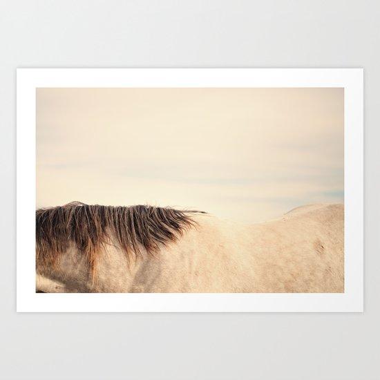 All The Wild Horses Art Print