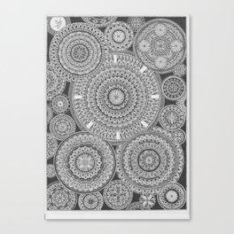 Mandala-madness Canvas Print