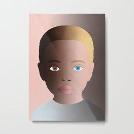 No Racism Metal Print
