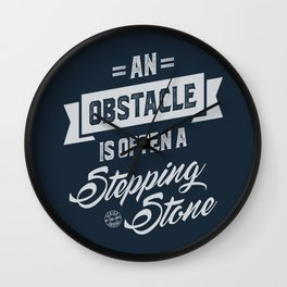 An Obstacle - Motivation Wall Clock