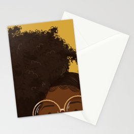 Natural Hair (Kinky) Stationery Cards