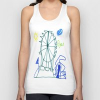 tennessee Tank Tops featuring Tennessee Valley Fair 2011 by Ryan van Gogh