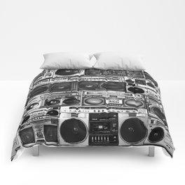 house of boombox Comforters