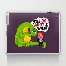 The Kindly Brontosaurus  Laptop & iPad Skin