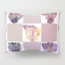 Verronica Kirei's Vulva Portrait Quilt Pillow Sham