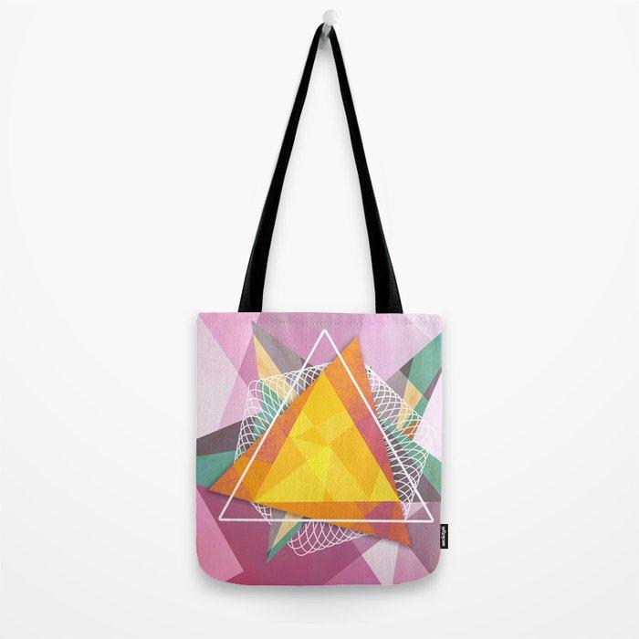 Tangled triangles Tote Bag