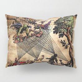 Medieval Minstrel Spirits Pillow Sham