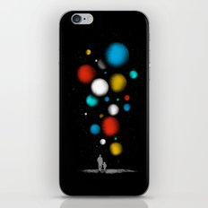 The Worlds Ahead of You iPhone & iPod Skin
