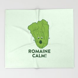 ROMAINE CALM Throw Blanket