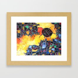 Abstraction #1 Framed Art Print