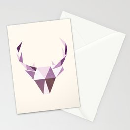 Polydeer in Space Stationery Cards