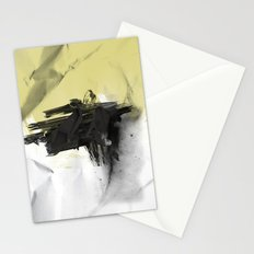 Yellow Symbiote Stationery Cards