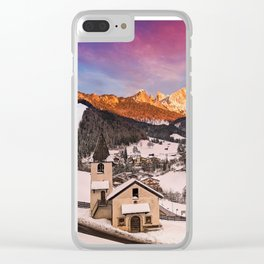 San Cipriano di Tires Clear iPhone Case