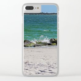 Floating Memories Clear iPhone Case